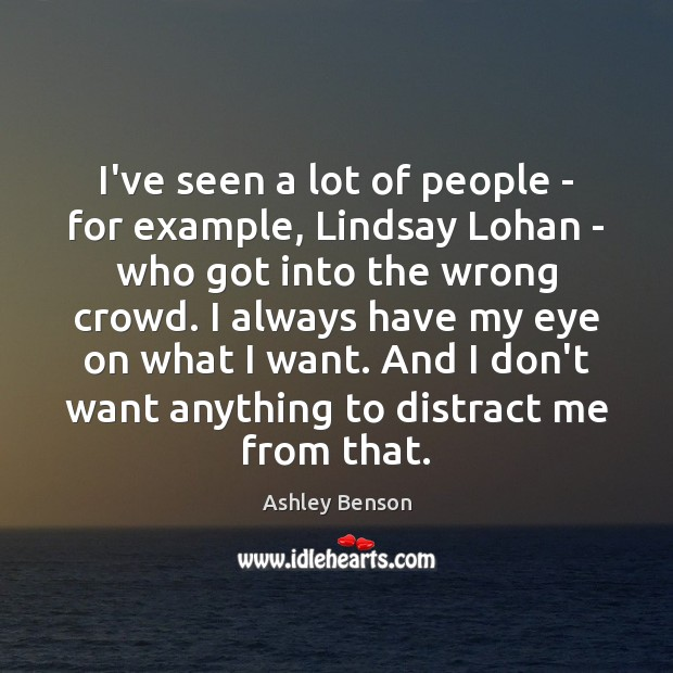 Image, I've seen a lot of people – for example, Lindsay Lohan –