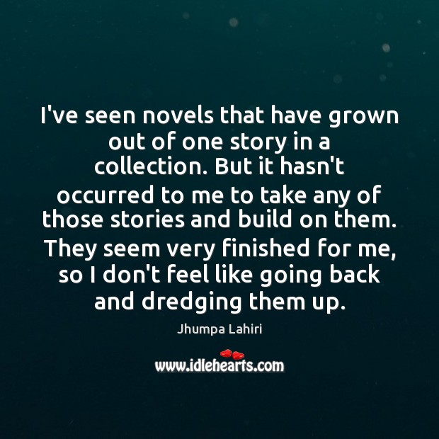 I've seen novels that have grown out of one story in a Image