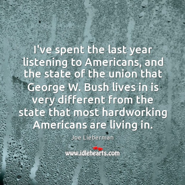 I've spent the last year listening to Americans, and the state of Image