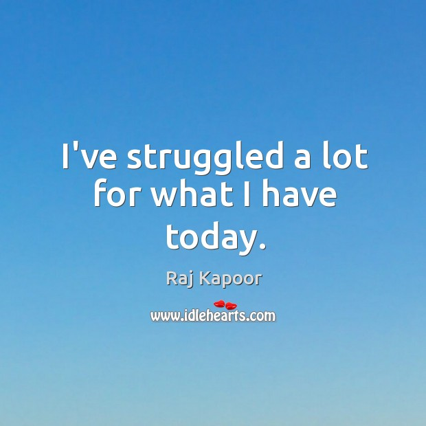 I've struggled a lot for what I have today. Image