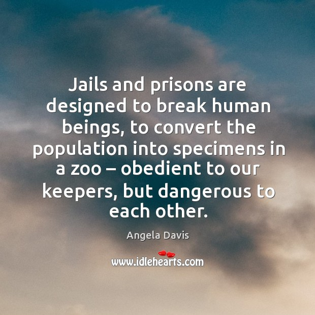 jails and prisons should they be Are us jails/prisons as horrible as they are portrayed thanks for the a2a, sorry i forgot about this question are you directing this question towards persons who.