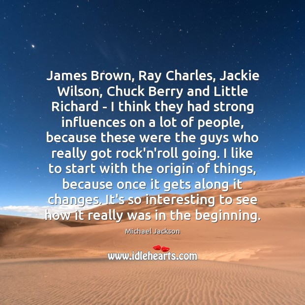 James Brown, Ray Charles, Jackie Wilson, Chuck Berry and Little Richard – Image