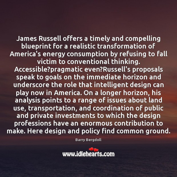 Image, James Russell offers a timely and compelling blueprint for a realistic transformation