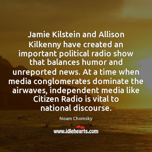 Image, Jamie Kilstein and Allison Kilkenny have created an important political radio show