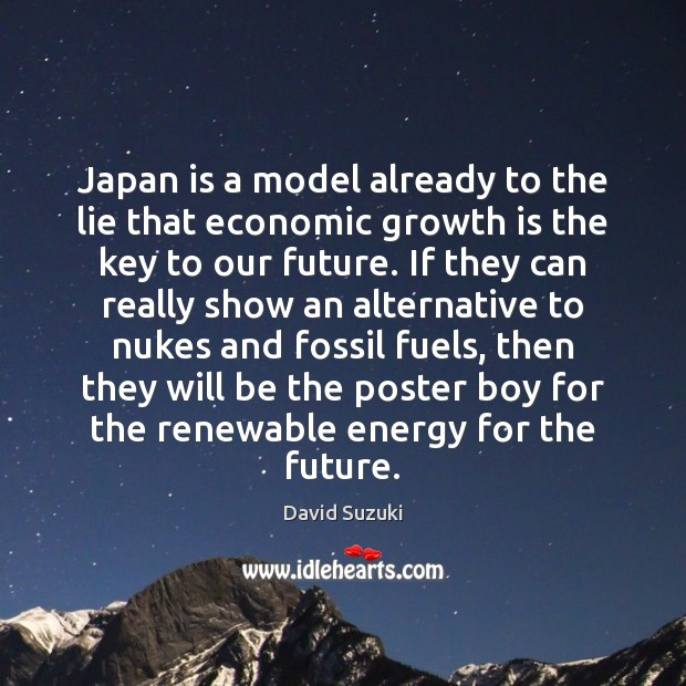Japan is a model already to the lie that economic growth is Image