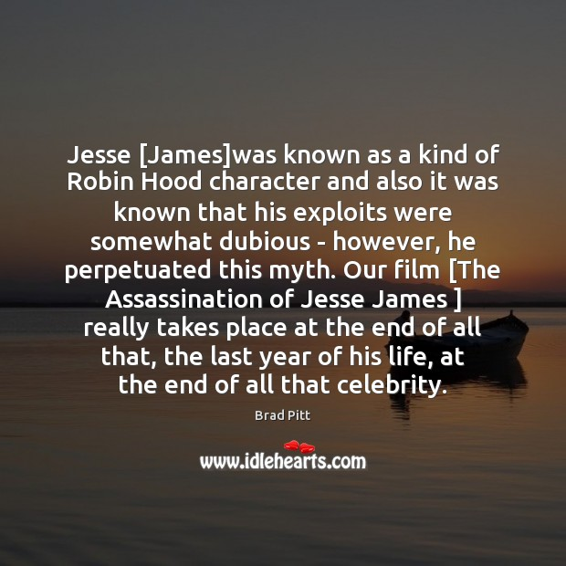 Jesse [James]was known as a kind of Robin Hood character and Image