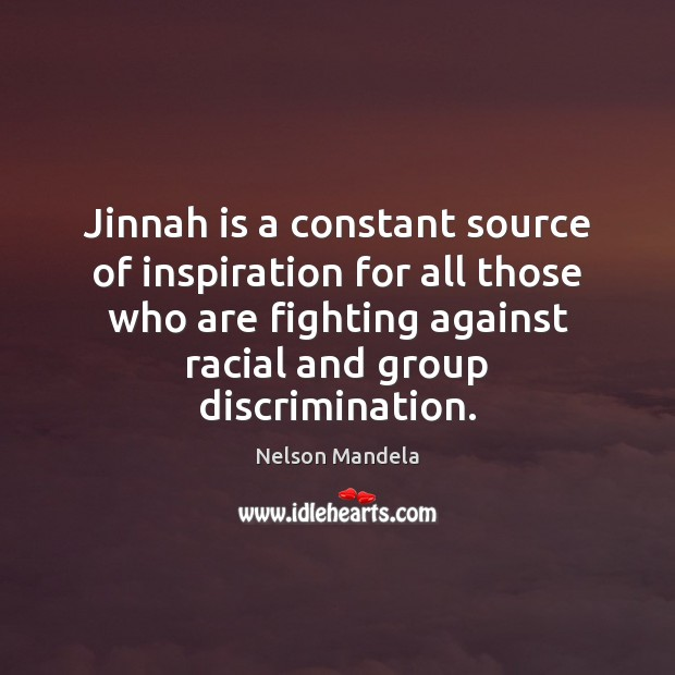 Jinnah is a constant source of inspiration for all those who are Image