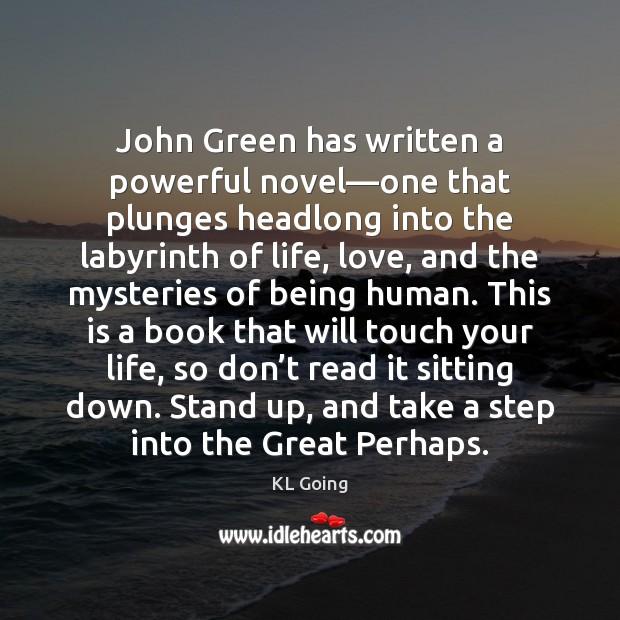 John Green has written a powerful novel—one that plunges headlong into Image