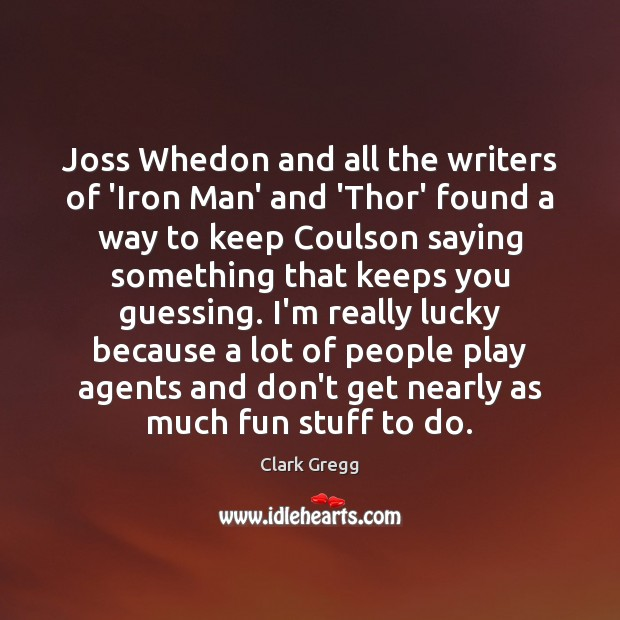 Image, Joss Whedon and all the writers of 'Iron Man' and 'Thor' found
