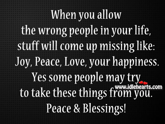 Joy, peace, love, your happiness Image