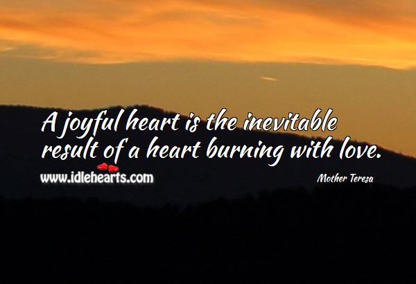 Image, A joyful heart