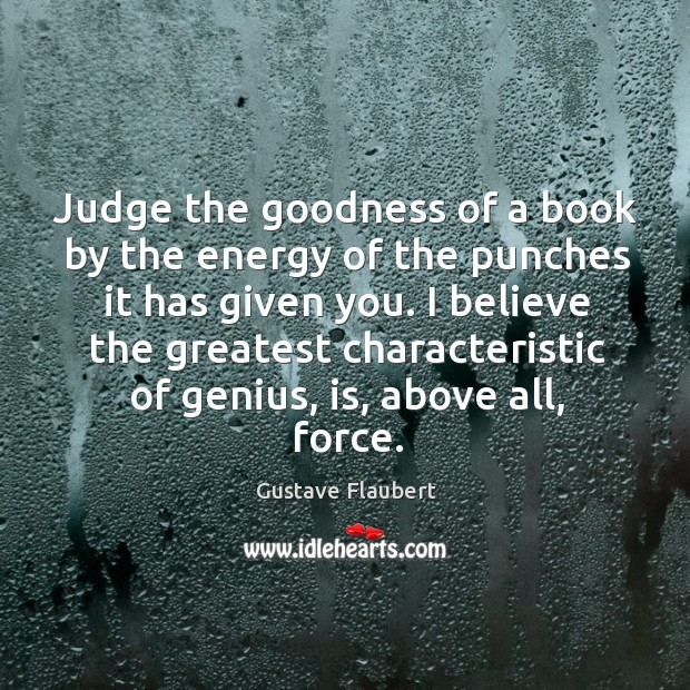 Image, Judge the goodness of a book by the energy of the punches it has given you.