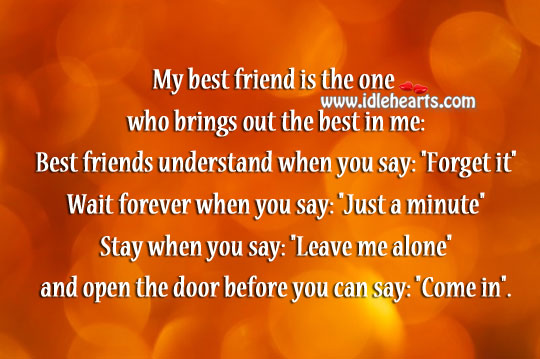 Image about Best friend is the one who brings out the best in you
