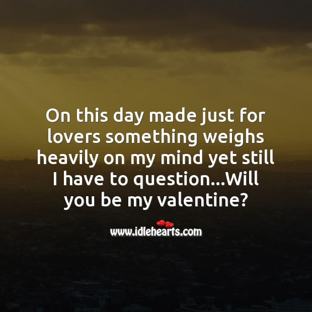 Just for lovers Valentine's Day Messages Image