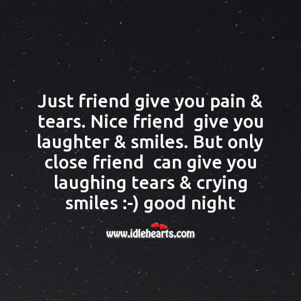 Just friend give you pain & tears. Image
