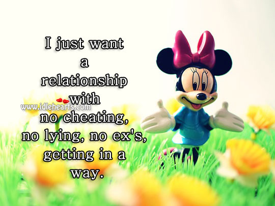 I just want a relationship Cheating Quotes Image