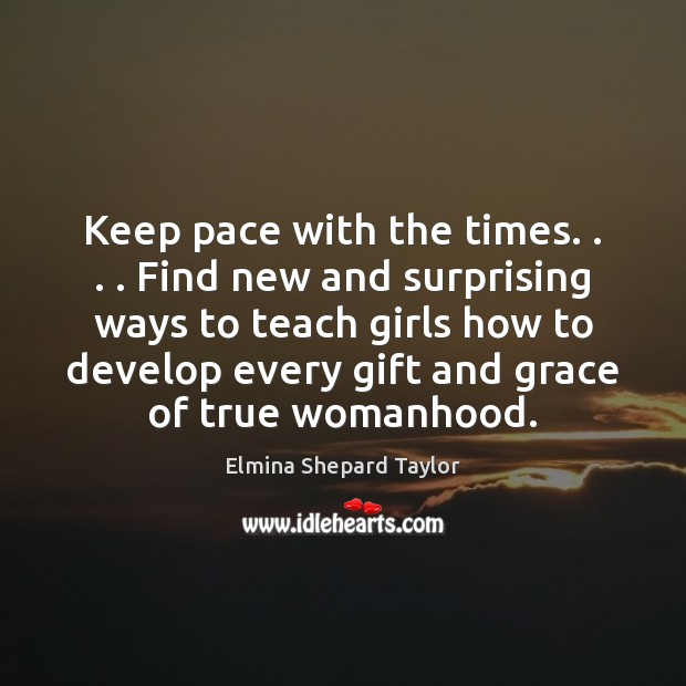 Keep pace with the times. . . . Find new and surprising ways to teach Image