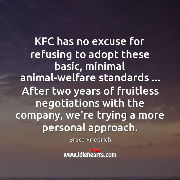 KFC has no excuse for refusing to adopt these basic, minimal animal-welfare Image