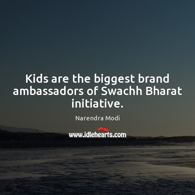 Image, Kids are the biggest brand ambassadors of Swachh Bharat initiative.