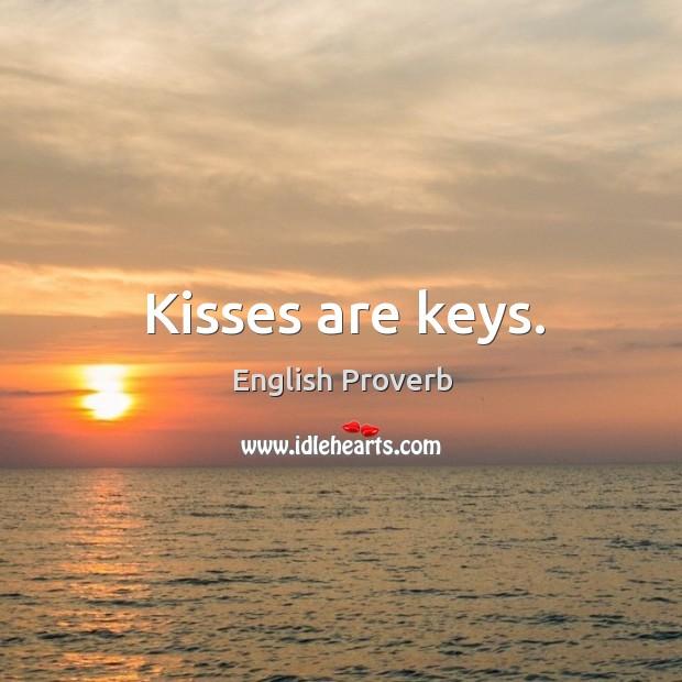 Image, Kisses are keys.