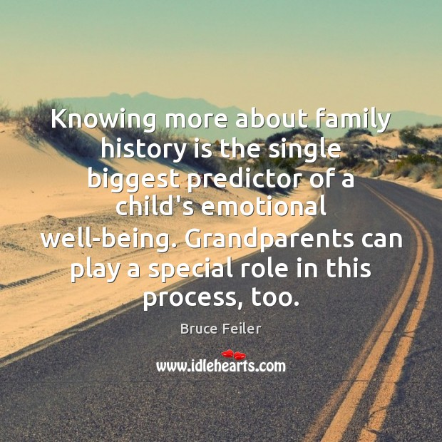 Image, Knowing more about family history is the single biggest predictor of a