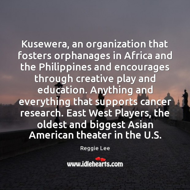 Image, Kusewera, an organization that fosters orphanages in Africa and the Philippines and