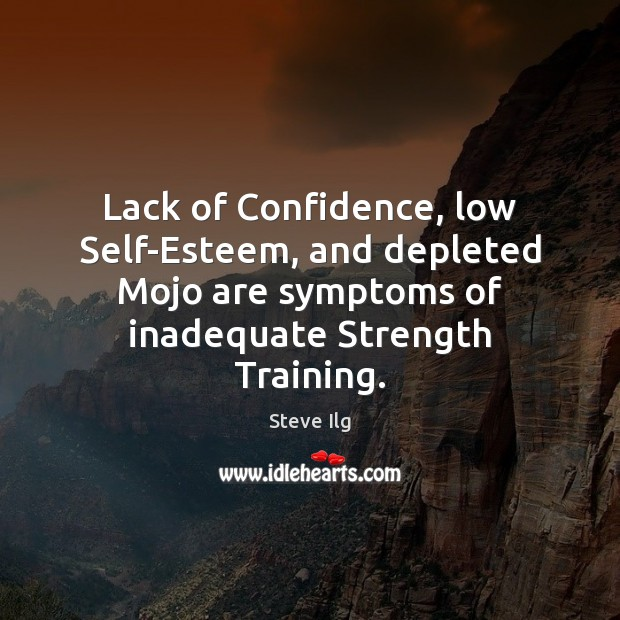 Lack of Confidence, low Self-Esteem, and depleted Mojo are symptoms of inadequate Image