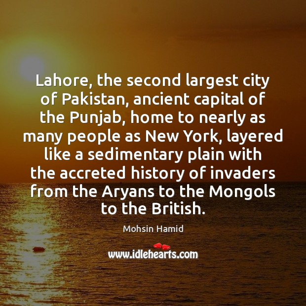 Lahore, the second largest city of Pakistan, ancient capital of the Punjab, Image