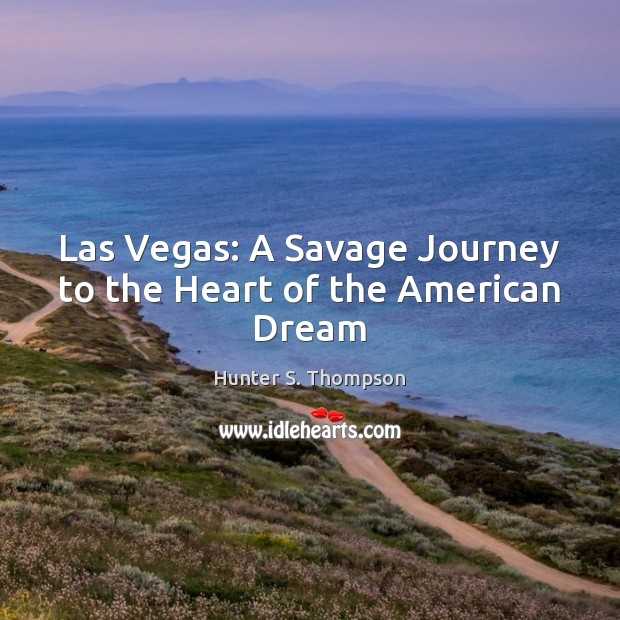 Image, Las Vegas: A Savage Journey to the Heart of the American Dream