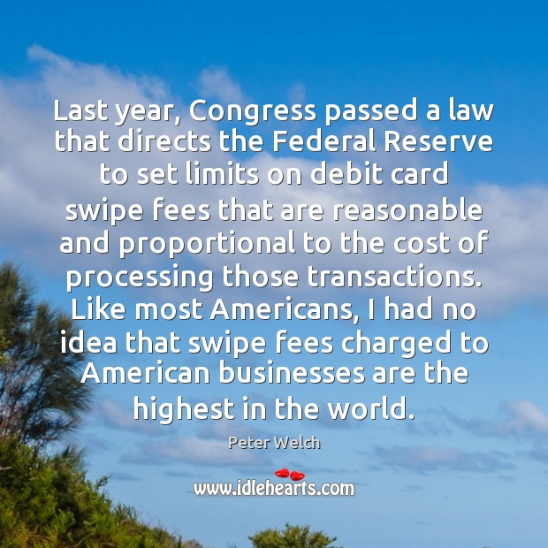 Image, Last year, Congress passed a law that directs the Federal Reserve to
