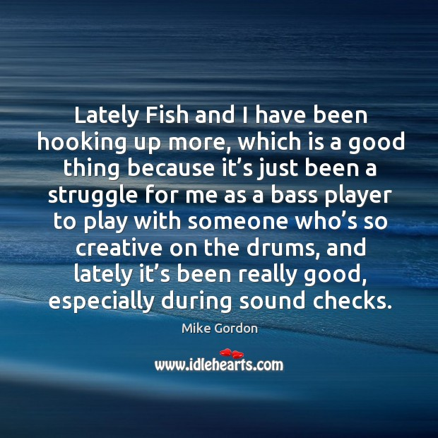 Lately fish and I have been hooking up more, which is a good thing because it's just been Image