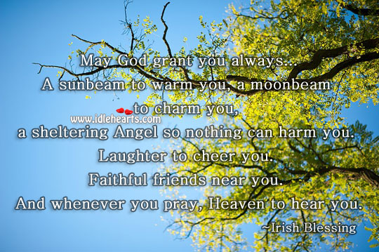A Wish For You…May God…