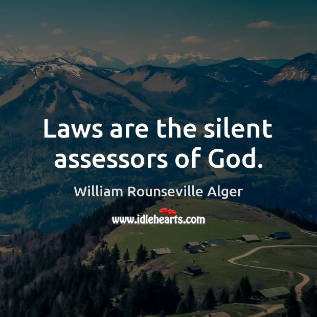Picture Quote by William Rounseville Alger