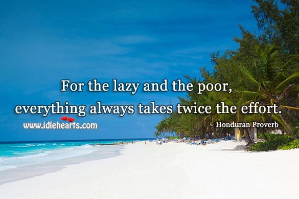 Honduran Proverbs