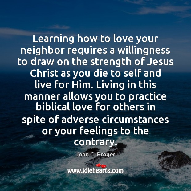 Image, Learning how to love your neighbor requires a willingness to draw on