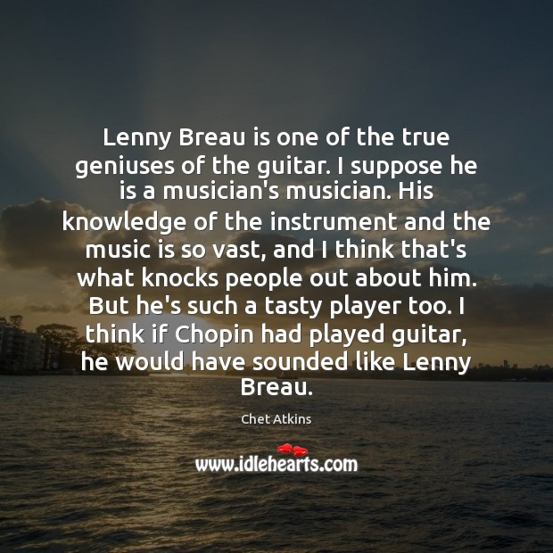 Lenny Breau is one of the true geniuses of the guitar. I Image