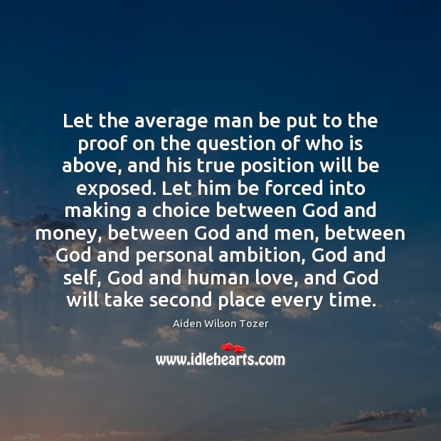 Let the average man be put to the proof on the question Image