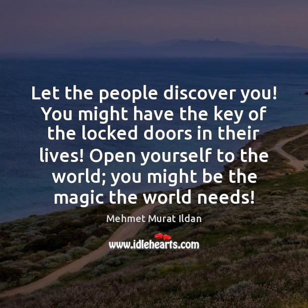Image, Let the people discover you! You might have the key of the