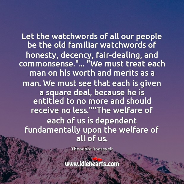 Image, Let the watchwords of all our people be the old familiar watchwords