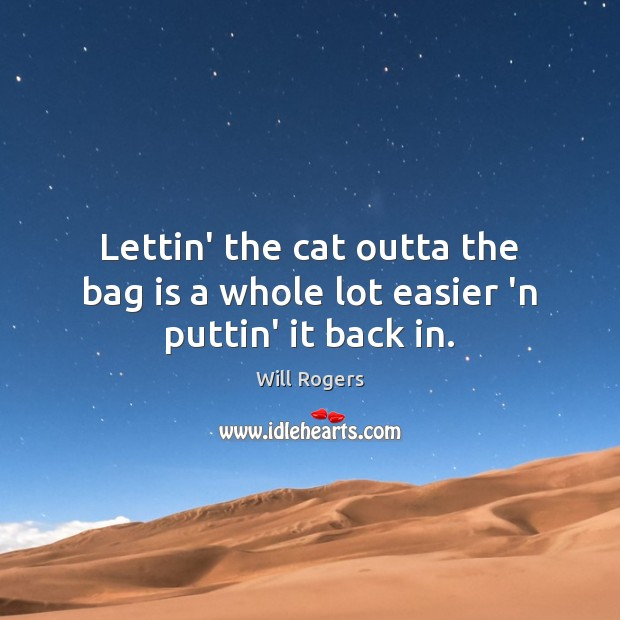 Picture Quote by Will Rogers