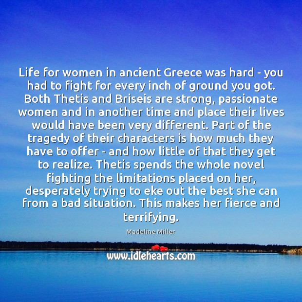 Image, Life for women in ancient Greece was hard – you had to