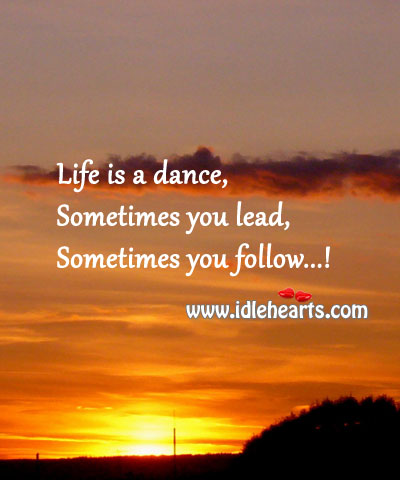 Image, Life is a dance!