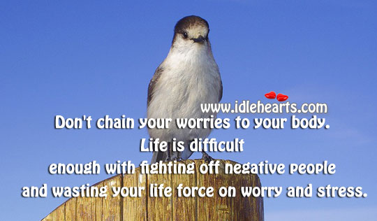 Break The Chain of Worries