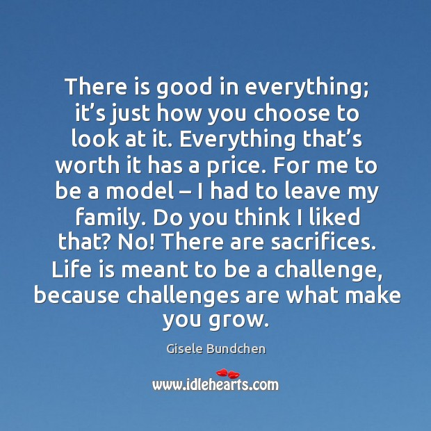 Image, Life is meant to be a challenge, because challenges are what make you grow.