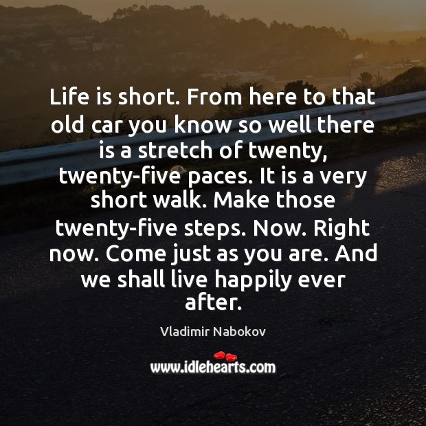 Image about Life is short. From here to that old car you know so