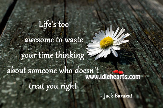 Life's Too Awesome To Waste