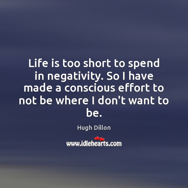Life is too short to spend in negativity. So I have made Life is Too Short Quotes Image