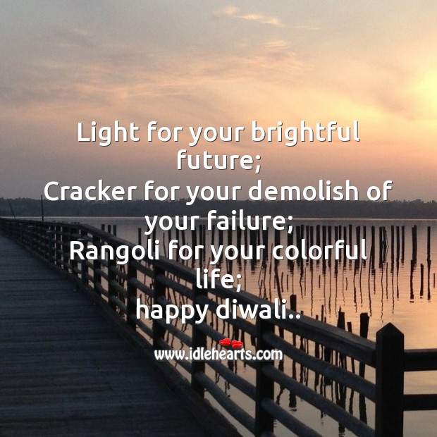 Image, Light for your brightful future;
