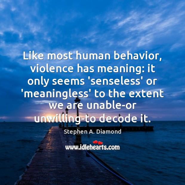 Behavior Quotes