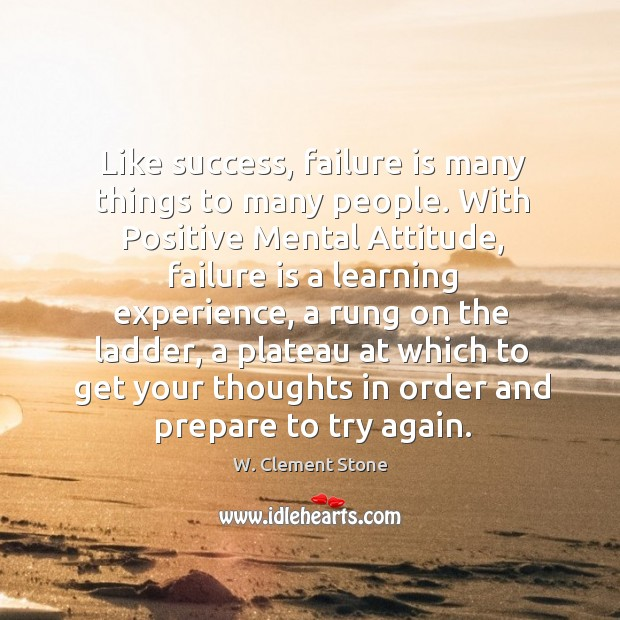 Image, Like success, failure is many things to many people.